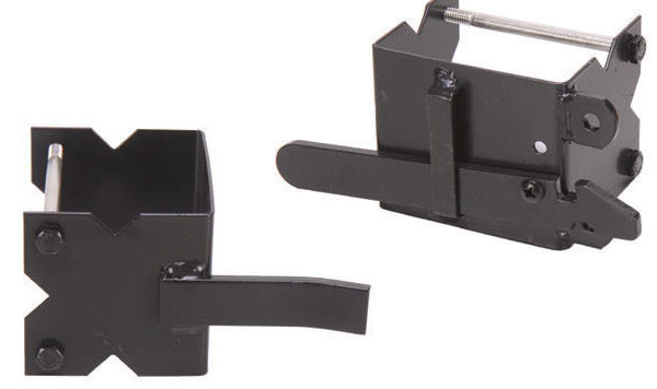 "4"" U Commercial 2-Way Latch"