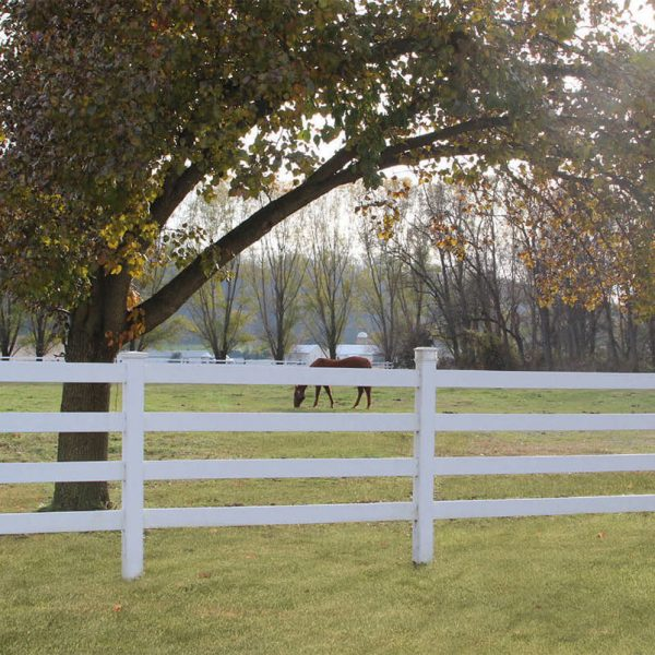 4 Rail Horse Fence Rail Fence