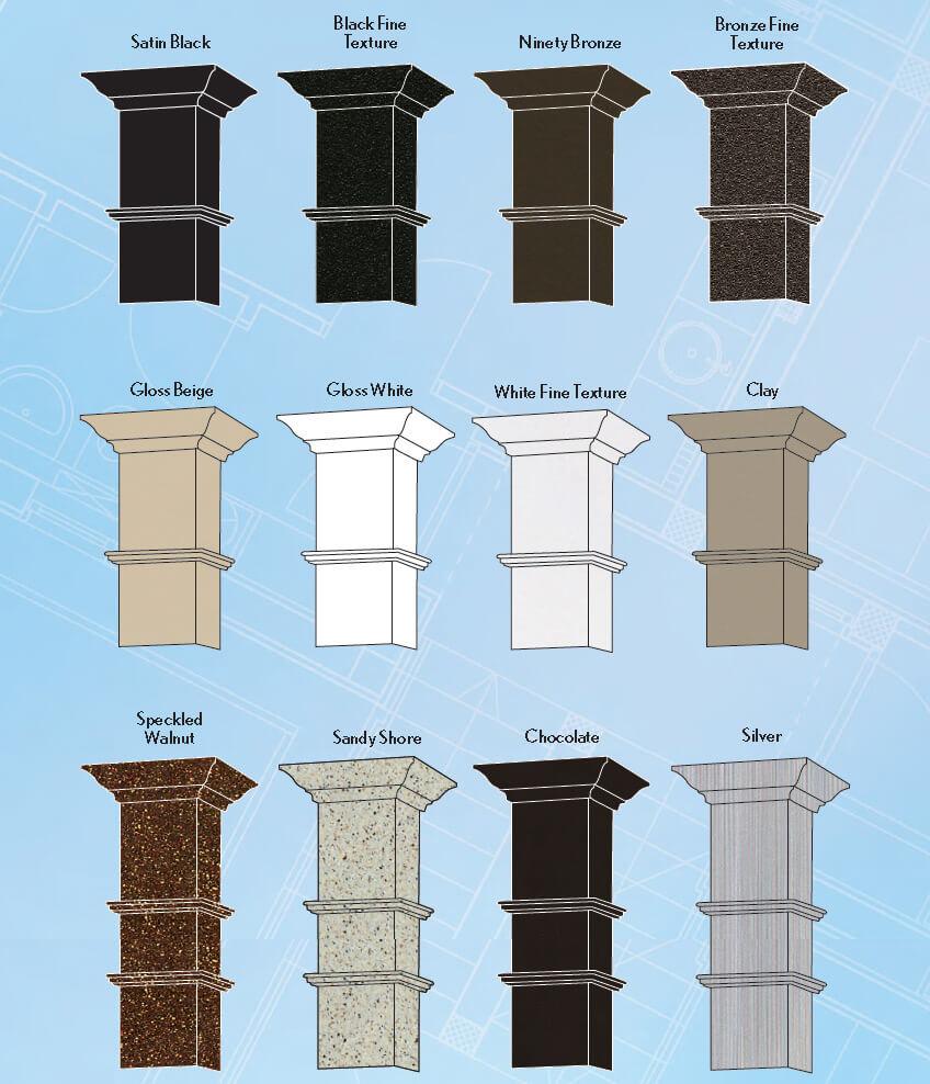 Home Structural Columns : Dsi recessed column structural columns
