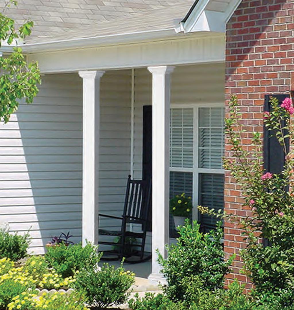 Home Structural Columns : Dsi smooth column structural columns