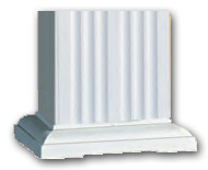 DSI Square Fluted Column Base