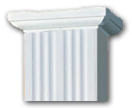 DSI Square Fluted Column Top