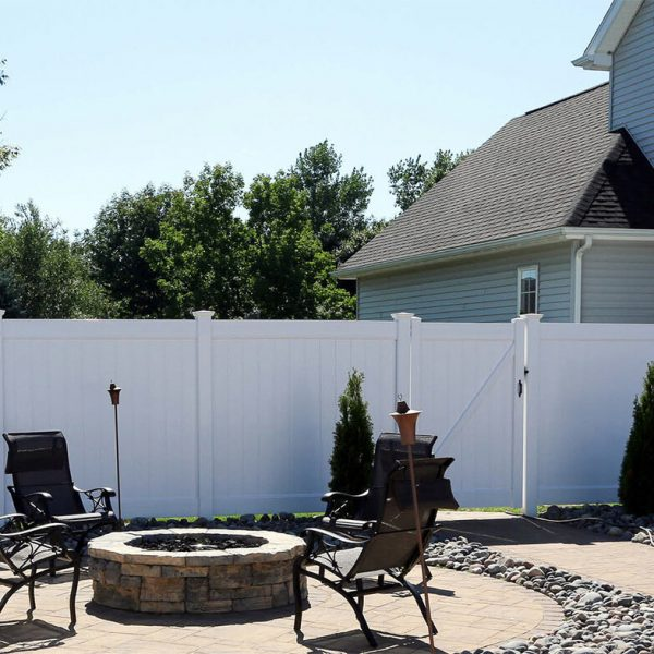 Fulton Vinyl Privacy Fence - Image 1