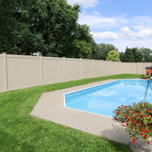 Fulton Vinyl Privacy Fence - Image 2