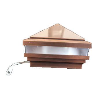 LV Light Cap Copper or Stainless