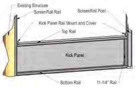 ScreenRail - Kick Panel