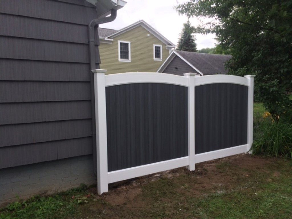 Fulton Arch Top Privacy Fence