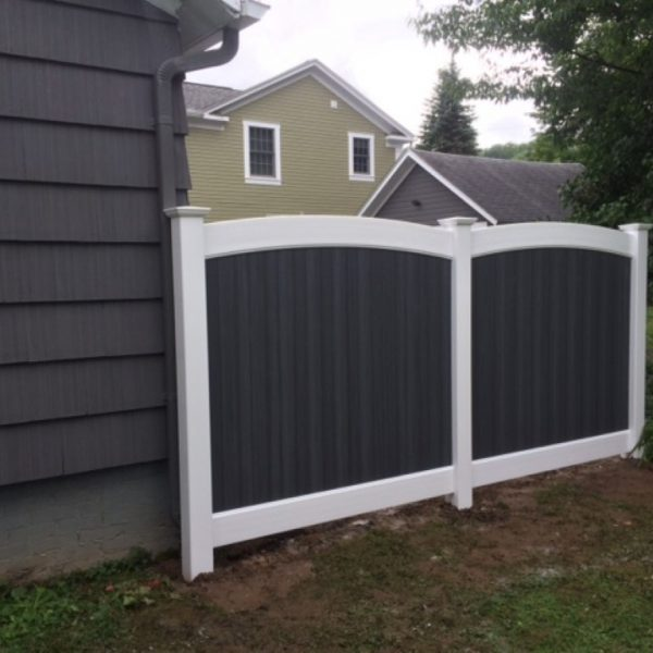 Custom Fence Design with Fulton Arch Top
