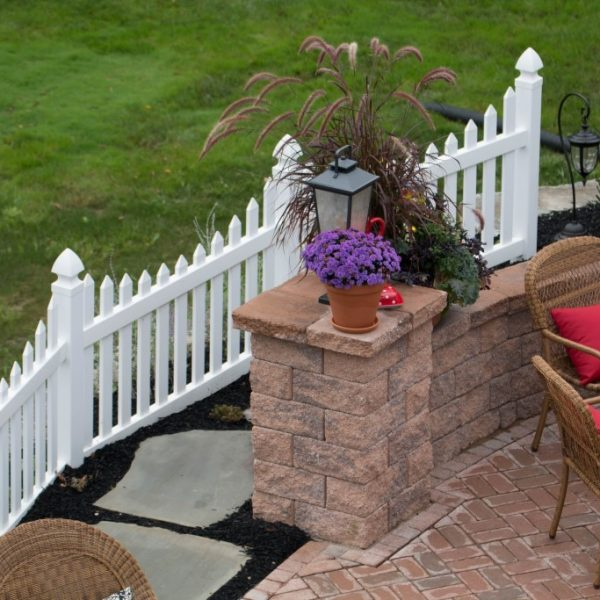 Herkimer Fencing with Concave Top