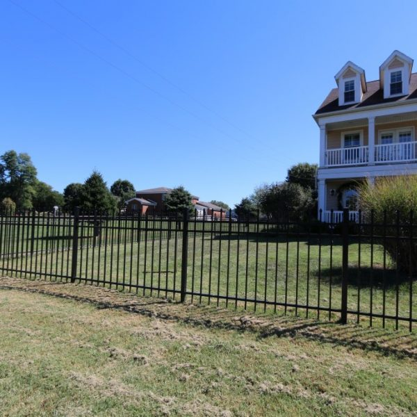 Regis Aluminum Brown Fencing for Backyard