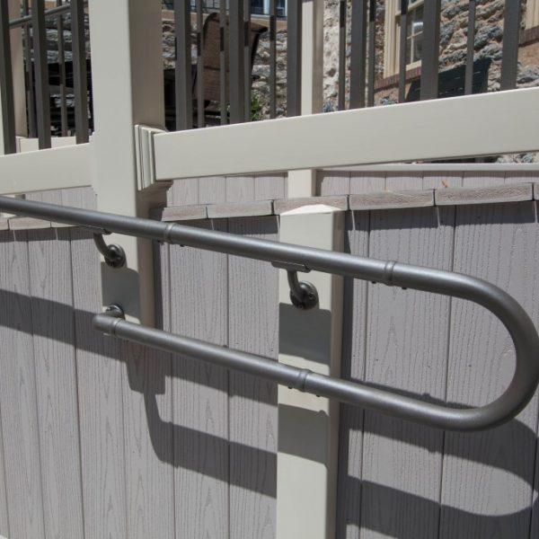 Westbury Liberty Brown Aluminum Handrail