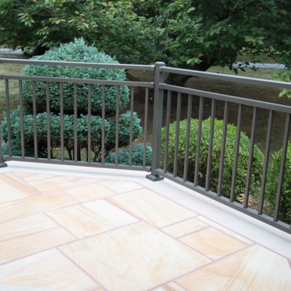 Westbury Riviera Brown Aluminum Railings