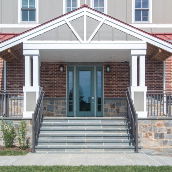 Westbury Riviera Brown Aluminum Porch Railing