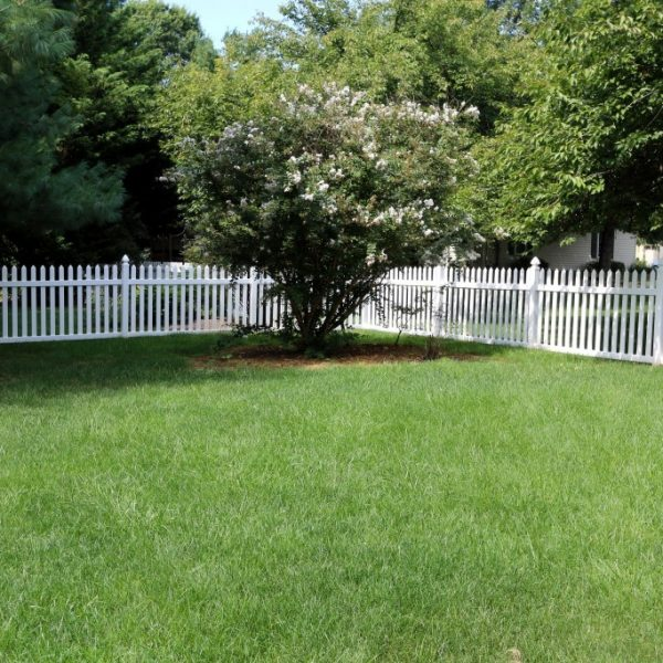 Vinyl Herkimer Straight Top Fence