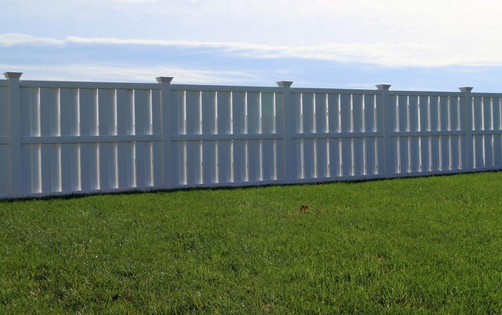 Shadow Box Privacy Fence