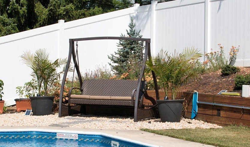 full coverage pool fence styles