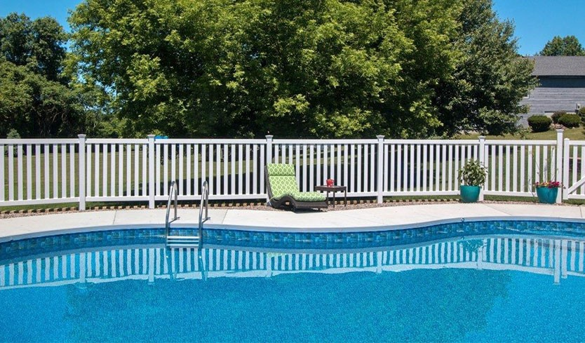 pool fence options