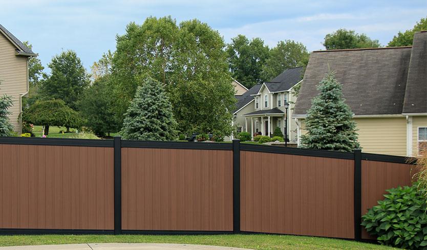 pvc fence colors