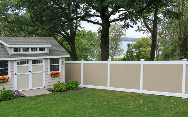 Most Popular Vinyl Fence Colors & Combos