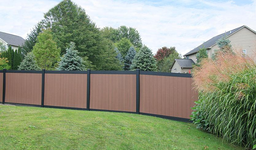 luxury garden fencing
