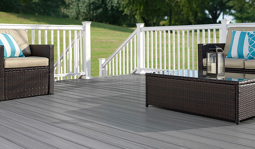 diy deck upgrade with fiberon composite boards