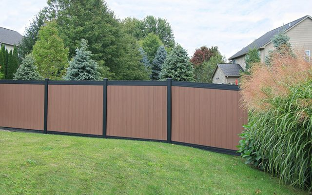 Attractive Privacy Fencing Options