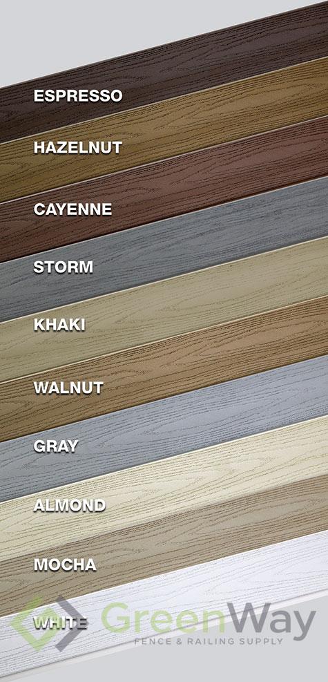 10 Deck Colors