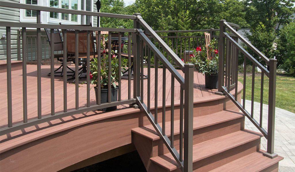 maintenance-free aluminum railings
