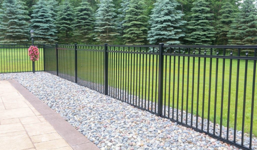 splitting the cost of aluminum fence with neighbor