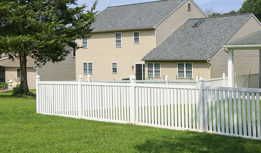 lawn fence styles