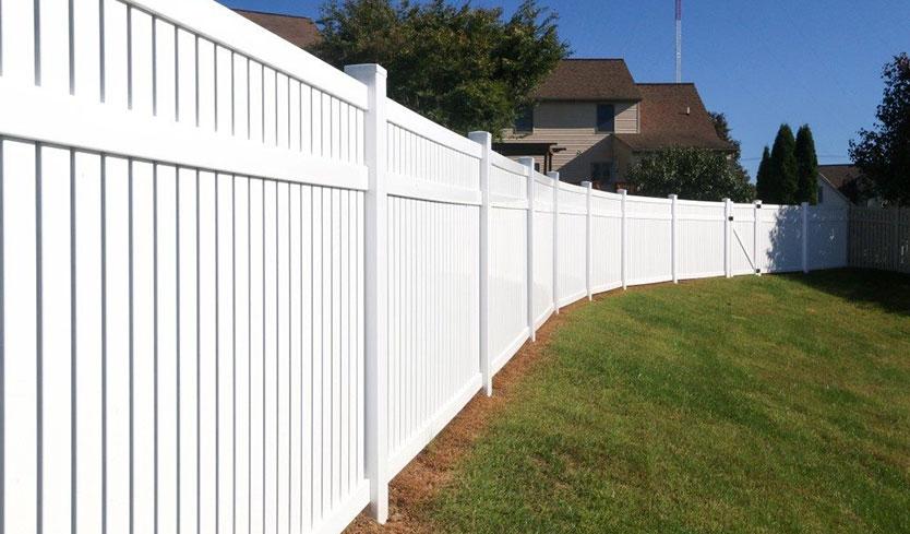 new york vinyl yard fence