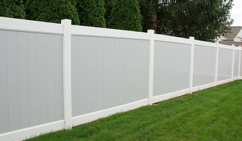 different types of backyard fences
