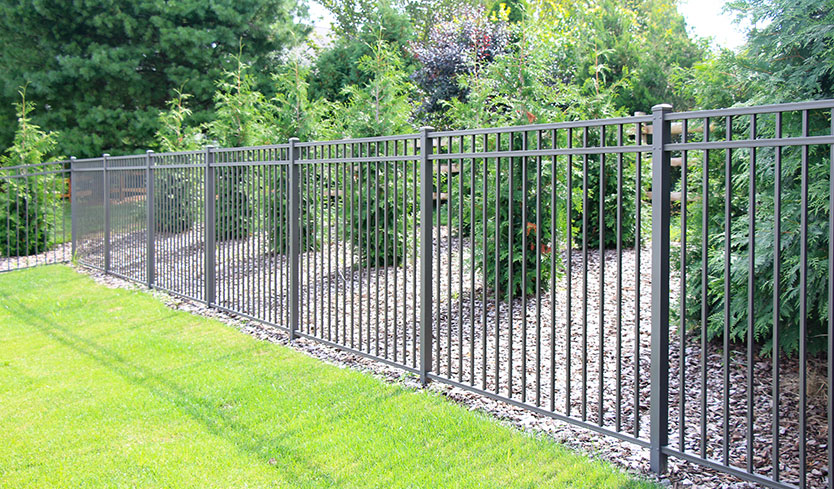 different types of fences