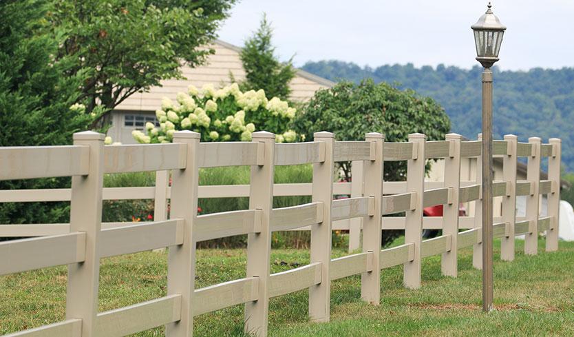 types of backyard fences
